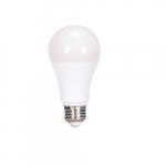 13W LED A19 Bulb, 75W Inc. Retrofit, Dim, E26, 1100 lm, 120V, 2700K