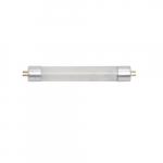 2W 6-ft LED T5 Tube, Direct Wire, Dual End, Miniature Bi Pin Base, 150 lm, 4000K