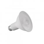 8.9W LED PAR30 Bulb, Short Neck, 75W CFL Retrofit, E26, 700 lm, 120V, 3000K