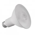 8.9W LED PAR30 Bulb, Long Neck, 75W CFL Retrofit, E26, 700 lm, 120V, 4000K