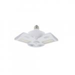 60W LED Motion Sensor Utility Light, 5880 lm, 4000K, White