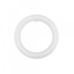 11W LED T9 Circline Tube, 22W Fl Retrofit, Ballast Bypass, G10Q, 1100 lm, 3000K