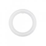 11W LED T9 Circline Tube, 22W Fl Retrofit, Ballast Bypass, G10Q, 1210 lm, 4000K