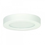 13.5W Round 7 Inch LED Flush Mount, Dimmable, 4000K, White