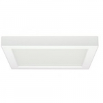 18.5W Square 9 Inch LED Flush Mount, Dimmable, 4000K, White