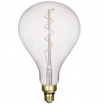 4W Dimmable PS52 LED Clear Filament Bulb, 2150K, 200 Lumens
