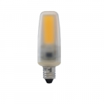 4W LED JC Bulb, 50W Hal. Retrofit, Dimmable, E11 Base, 460 lm, 3000K, Frosted
