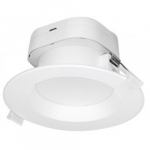 7W Round LED Downlight, Direct Wire, Dimmable, 2700K