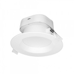 7W Round LED Downlight, Direct Wire, Dimmable, 5000K