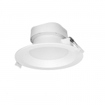 9W Round 5-6 Inch LED Downlight, Direct Wire, Dimmable, 2700K