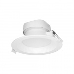 9W Round 5-6 Inch LED Downlight, Direct Wire, Dimmable, 5000K