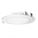 11.6W Round Edge-Lit 4 Inch LED Downlight, Direct Wire, Dimmable, 2700K