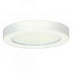 13.5W Round 7 Inch LED Flush Mount, Dimmable, 2700K, 90 CRI, White