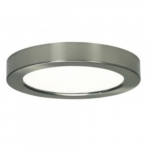 13.5W Round 7 Inch LED Flush Mount, Dimmable, 2700K, 90 CRI, Brushed Nickel