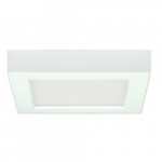 13.5W Square 7 Inch LED Flush Mount, Dimmable, 5000K, 90 CRI, White