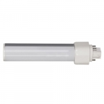 9W LED PL Bulb, 4-Pin Horizontal Ballasts, 3500K, 850 Lumens