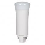 9W LED PL Bulb, 4-Pin Vertical Ballasts, 3500K, 850 Lumens