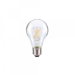 8W LED A19 Bulb, 60W Inc. Retrofit, E26, 800 lm, 2700K