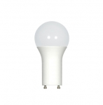 18W LED A21 Bulb, 100W Inc. Retrofit, GU24, 1600lm, 120V, 4000K, Frosted White