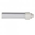 9W 2-Pin LED PL Tube, 900 Lumens, 2700K