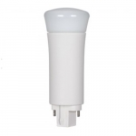 9W Verticle 2-Pin LED PL Tube, 950 Lumens, 3000K