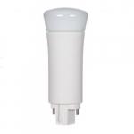 9W Verticle 2-Pin LED PL Tube, 1000 Lumens, 4000K