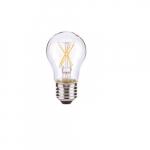 4.5W LED A15 Clear Filament Bulb, 2700K