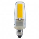4W LED Lamp w/  E11 Base, 480 LM, Frost, 3000K