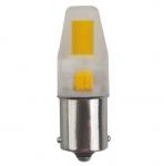 3W LED Lamp w/ BA15S Base, 330 LM, 3000K