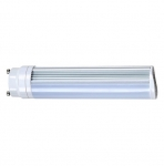 8W LED PL Bulb, 2-Pin GU24 Base, 2700K, 675 Lumens