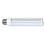 8W LED PL Bulb, 2-Pin E26 Base, 5000K, 720 Lumens