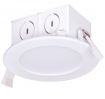 "8.5W 4"" LED Retrofit Downlight, Direct Wire, Dimmable, 2700K"