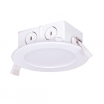"""8.5W 4"""" LED Retrofit Downlight, Direct Wire, Dimmable, 4000K"""