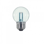 1.2W LED S11 Specialty Indicator Clear Bulb, 2700K
