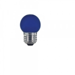 1.2W LED S11 Specialty Indicator Ceramic Blue Bulb, 2700K