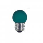 1.2W LED S11 Specialty Indicator Ceramic Green Bulb, 2700K