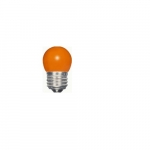 1.2W LED S11 Specialty Indicator Ceramic Orange Bulb, 2700K