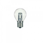 1W LED S11 Intermediate Specialty Indicator Bulb, Clear