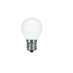 1W LED S11 Intermediate Specialty Indicator Bulb, White