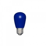 1.4W LED S14 Specialty and Indicator Ceramic Blue Bulb