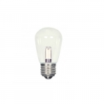 1.4W LED S14 Specialty and Indicator Clear Bulb