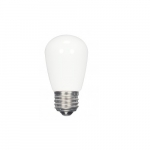 1.4W LED S14 Specialty and Indicator Ceramic Frosted Bulb