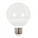 6W LED Decorative G25 Bulb, Dimmable, 2700K