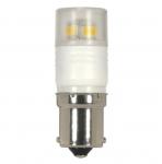 2.3W LED Lamp w/ BA15S Base, 220 LM, 3000K