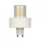 5W LED Lamp w/ G9 base, 3000K
