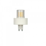 5W LED Lamp w/ G9 Base, Dimmable, 360 LM, 3000K