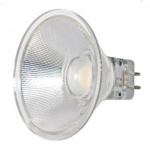 3W LED MR11 Bulb w/ GU5.3 Base, 3000K, 25 Degree