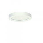 "Blink 13.5W 7"" Round LED Flush Mount, 3000K, 820 Lumens, White"