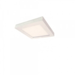 "Blink 13.5W 7"" Square LED Flush Mount, 2700K, 780 Lumens, White"