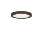 "Blink 18.5W 9"" Round LED Flush Mount, 2700K, 1150 Lumens, Bronze"